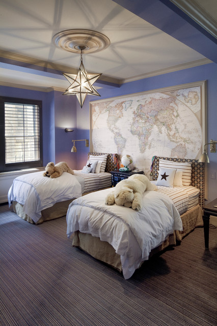 15 Adorable Childs Room Designs In Light Blue Color