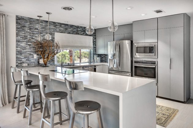 18 Gorgeous U Shaped Kitchen Designs That You Need To See