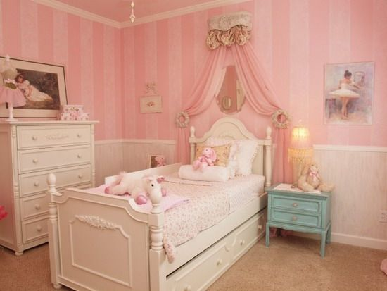 16 Classy Girl's Room Designs In French Style