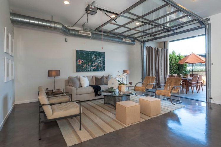 12 functional solutions to transform your garage into for Garage family room