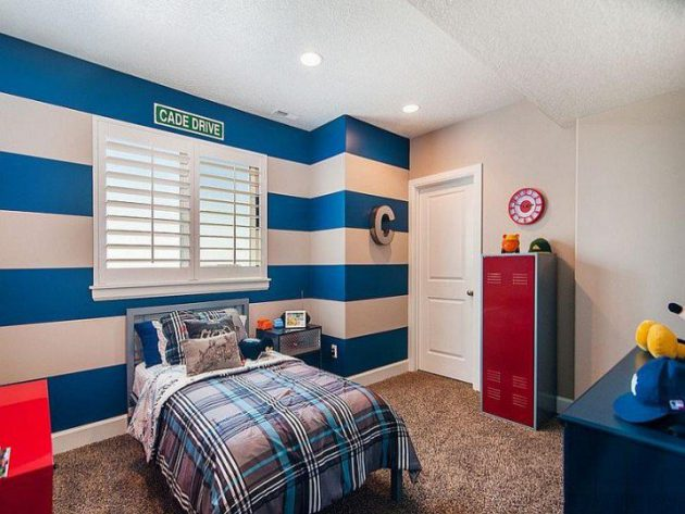 17 Magnificent Child's Room Designs With Accent Wall