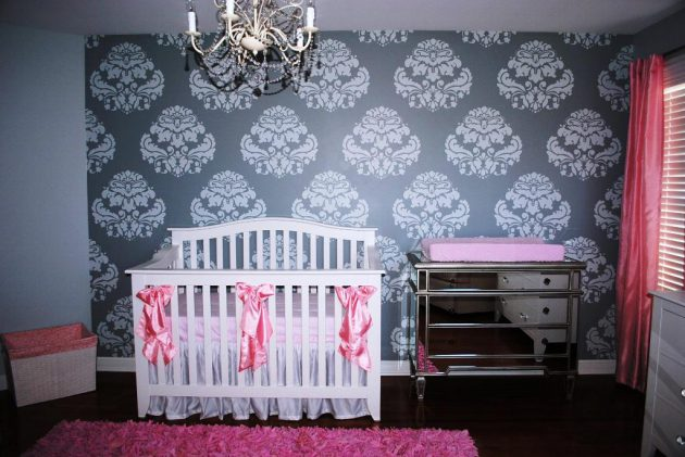 18 Adorable Ideas For Decorating Nursery For Baby Girl