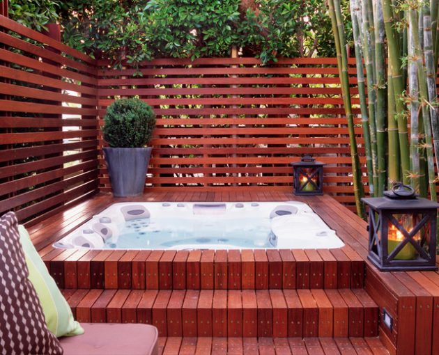 17 Fascinating Outdoor Hot Tub Designs That Will Take Your Breath Away