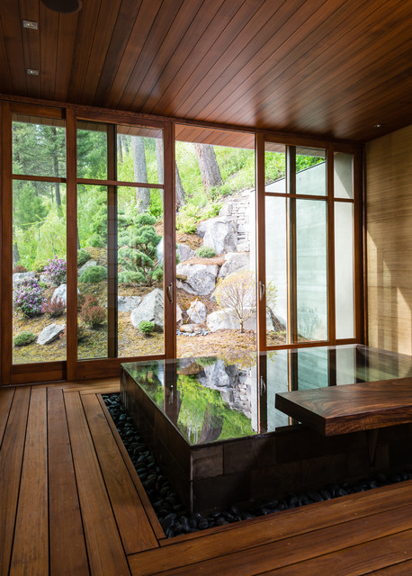 15 Really Awesome Bathrooms With Sunken Bathtub That Will Amaze You