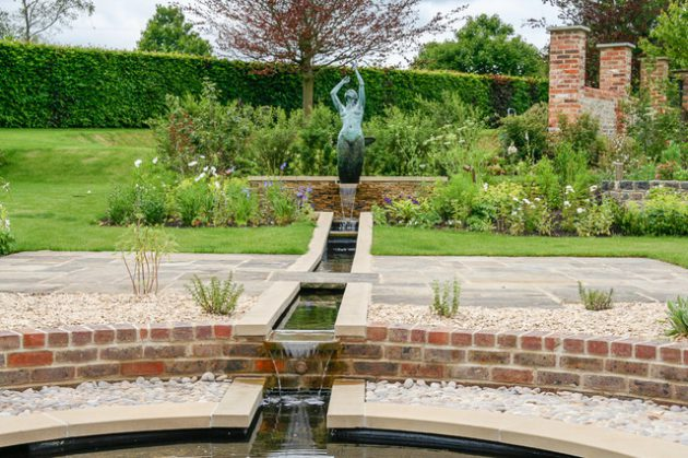 16 Attractive Garden Designs In Country Style