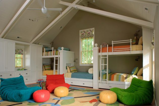 16 Adorable Attic Childs Room Designs That Will Attract Your Attention