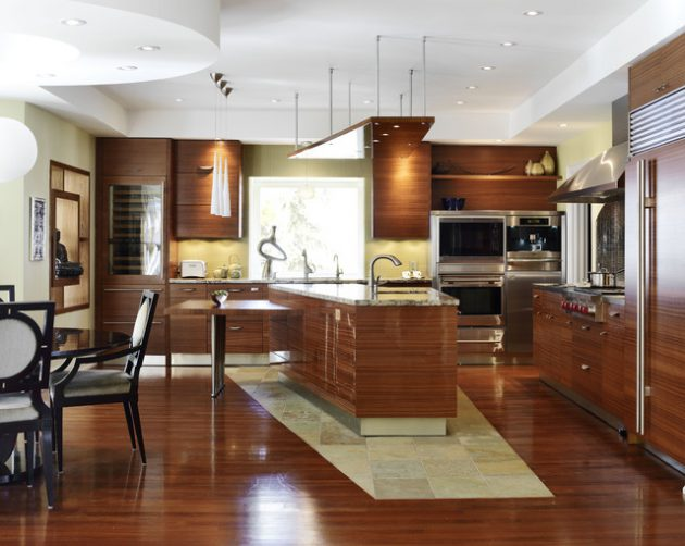19 Irreplaceable Asian Kitchen Designs That Abound With Elegance & Sophistication