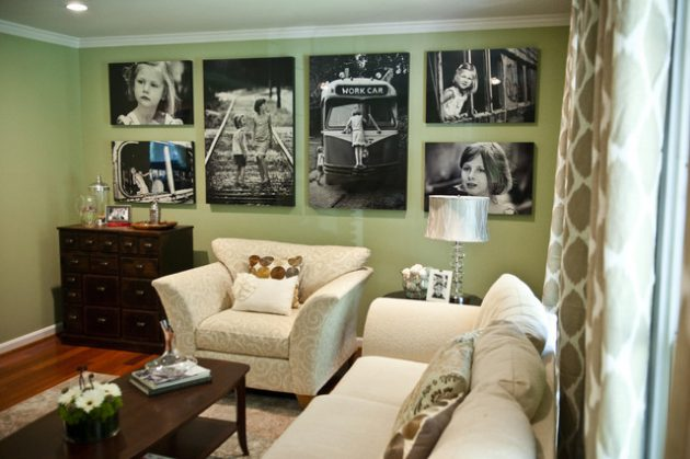 17 Most Creative Ways Display The Photos On The Wall For Everyones Taste
