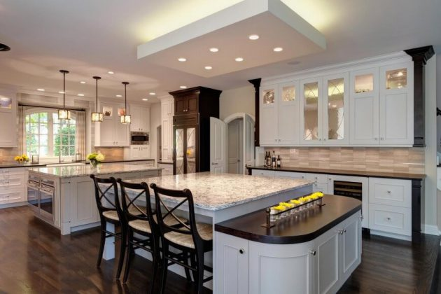 18 Remarkable Kitchen Islands With Seating Place That Everyone Will Love