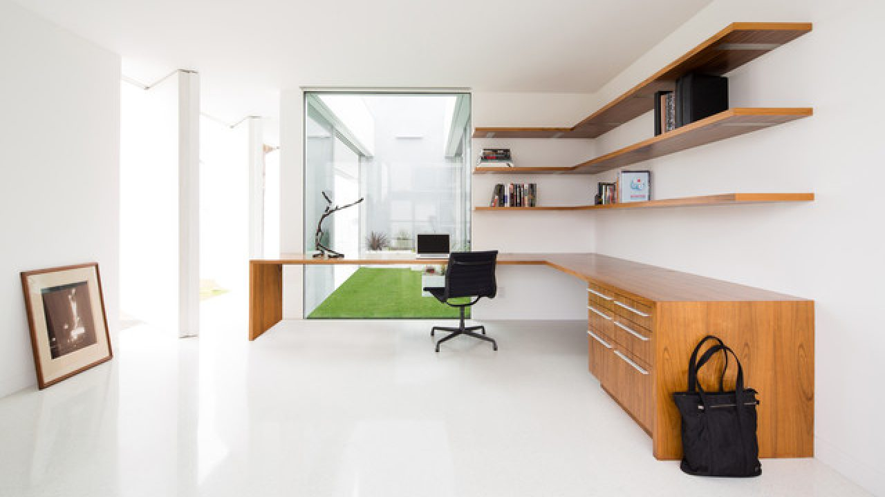 18 Minimalist Home Office Designs That Abound With Simplicity Elegance