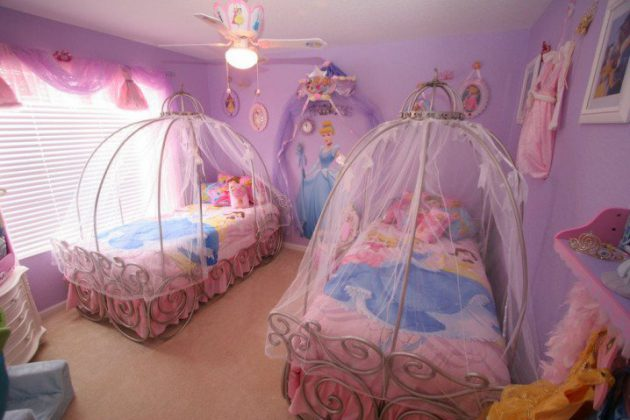 17 Glorious Princess Themed Childs Room Designs That Will Fascinate You