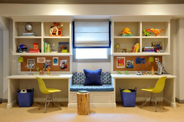 22 Most Functional Ways To Decorate Study Room For Your Students