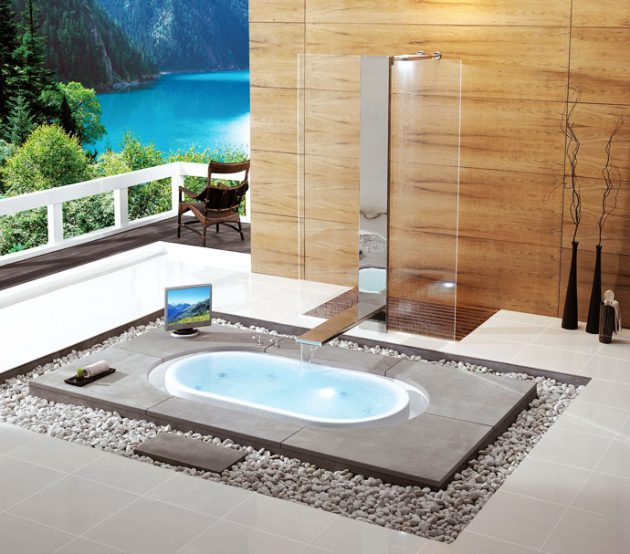 48 Really Awesome Bathrooms With Sunken Bathtub That Will Amaze You Gorgeous Awesome Bathrooms