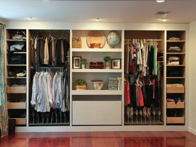 17 functional ideas for designing small wardrobe. Black Bedroom Furniture Sets. Home Design Ideas
