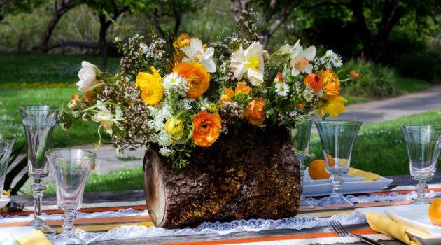 17 Awe-Inspiring Log Centerpiece Designs To Adorn Your Dining Table