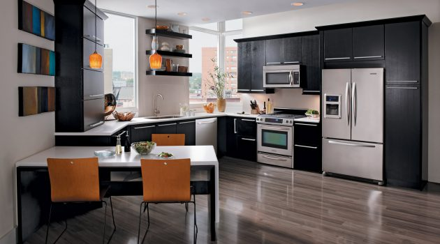 17 Flooring Options For Dark Kitchen Cabinets