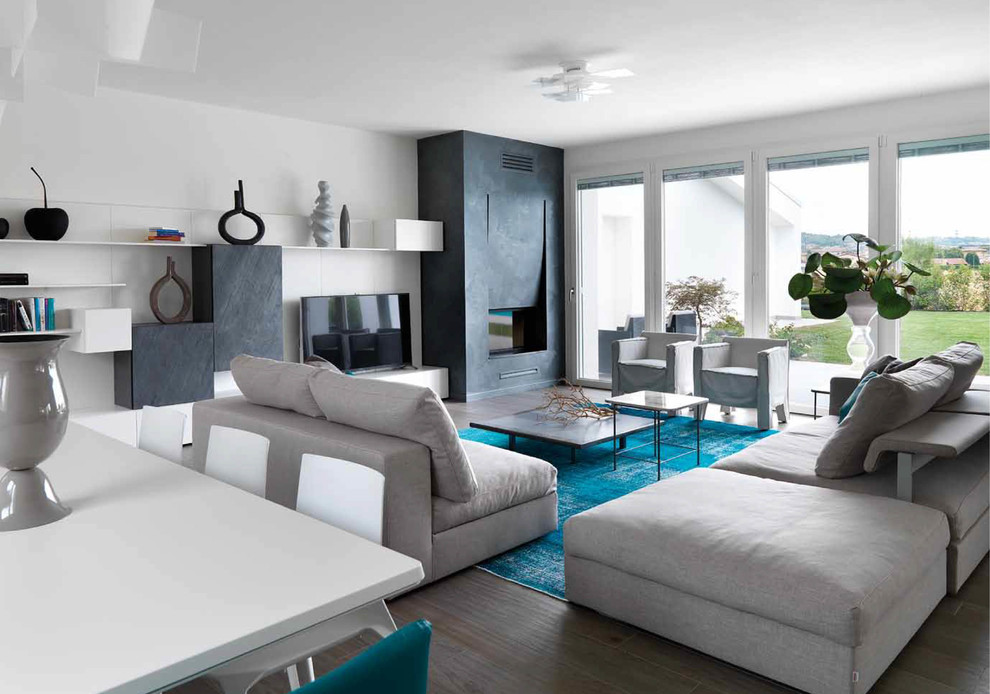 15 beautiful modern living room designs your home - Modern family room design ideas ...
