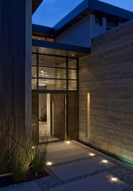 15 Irresistible Contemporary Entrance Designs You Won U0026 39 T Turn Down