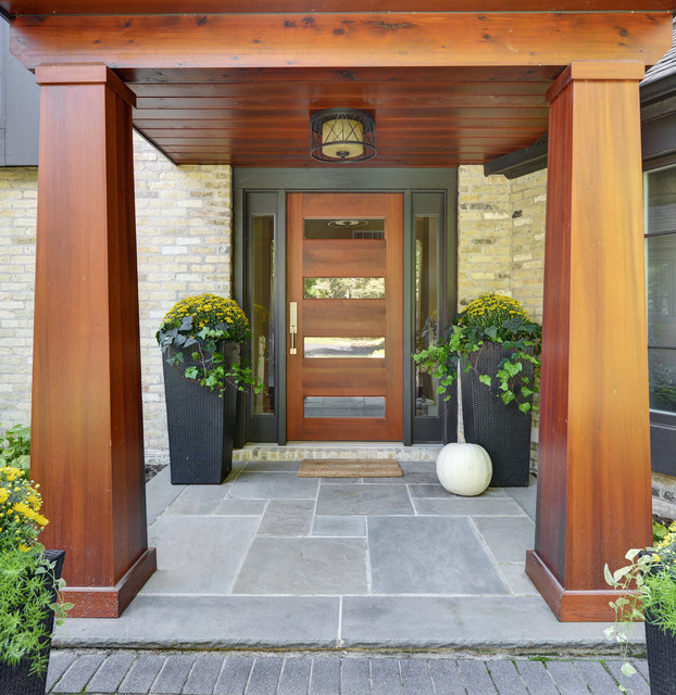 15 Irresistible Contemporary Entrance Designs You Won't