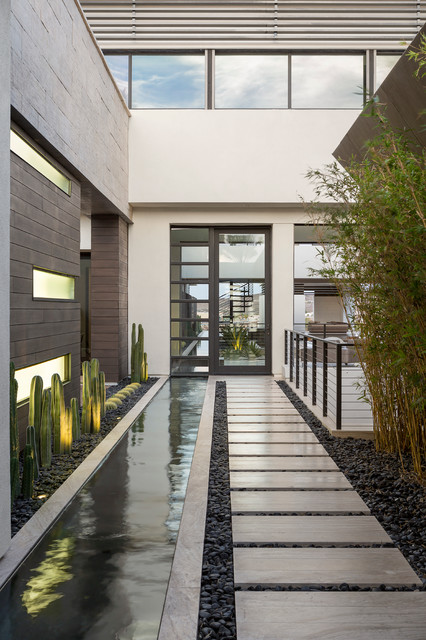 15 Irresistible Contemporary Entrance Designs You Wont Turn Down