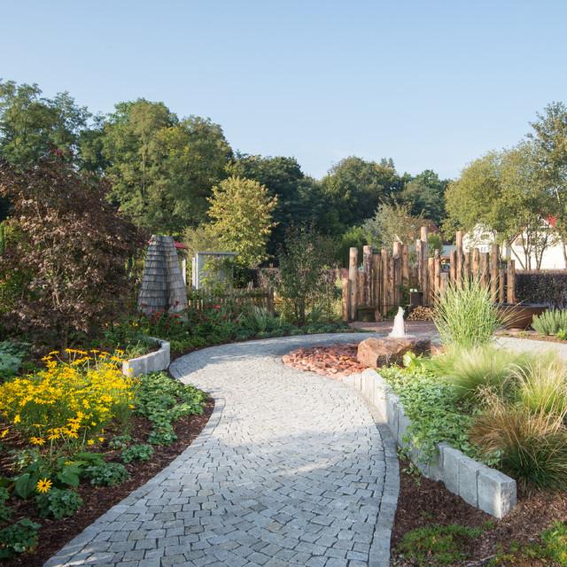 15 Outstanding Contemporary Landscaping Ideas Your Garden ... on Backyard Landscape Design Ideas  id=68035