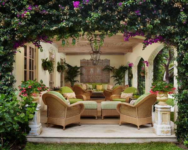 20 beautiful outdoor living room designs that will delight you for Outdoor living room ideas