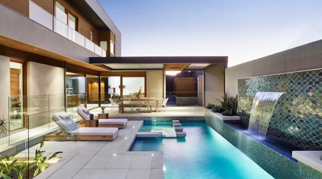 Gardens terrace archives page 10 of 52 architecture art designs - Modern swimming pool designs ...