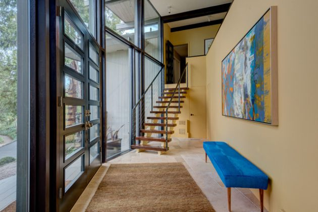 16 Enticing Contemporary Entry Hall Designs That Will Accommodate You