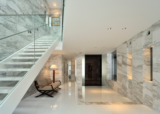 16 Enticing Contemporary Entry Hall Designs That Will