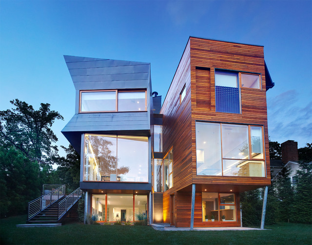 16 Phenomenal Contemporary Home Exterior Designs You\'ll Fall In Love ...