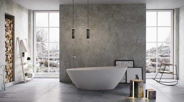 18 Luxury Bathroom Designs With Freestanding Bathtub