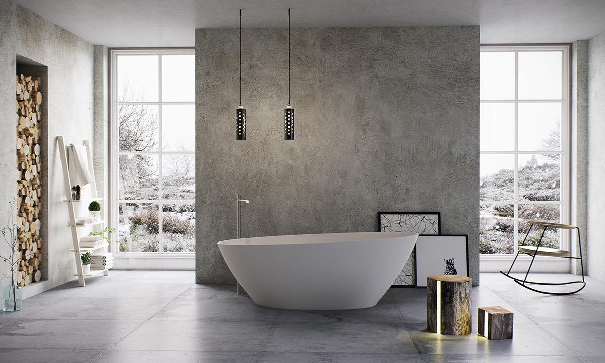 18 luxury bathroom designs with freestanding bathtub - Luxury Bathroom