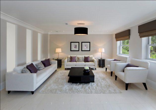 17 Wonderful Examples Of Living Room Lighting