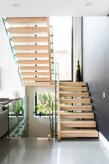 17 Uplifting Contemporary Stairway Designs Your Home Needs To Have