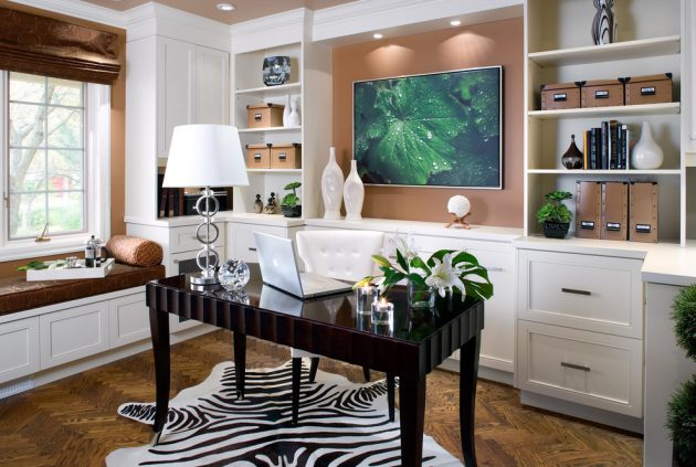 Stupendous Beautiful Home Office Designs With Feminine Allure Largest Home Design Picture Inspirations Pitcheantrous