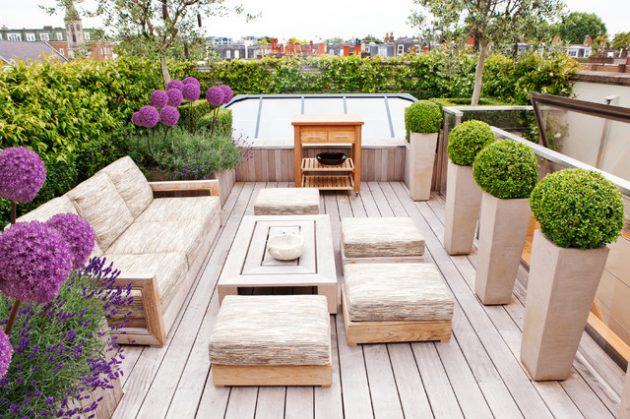 18 Outstanding Contemporary Deck Designs For Your Backyard
