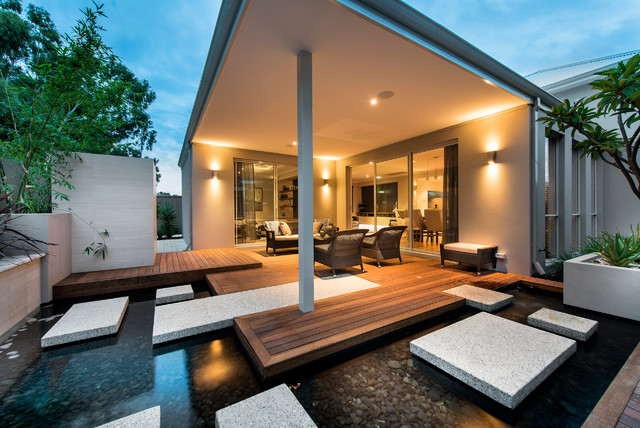 48 Outstanding Contemporary Deck Designs For Your Backyard Classy Backyard Deck Design Property