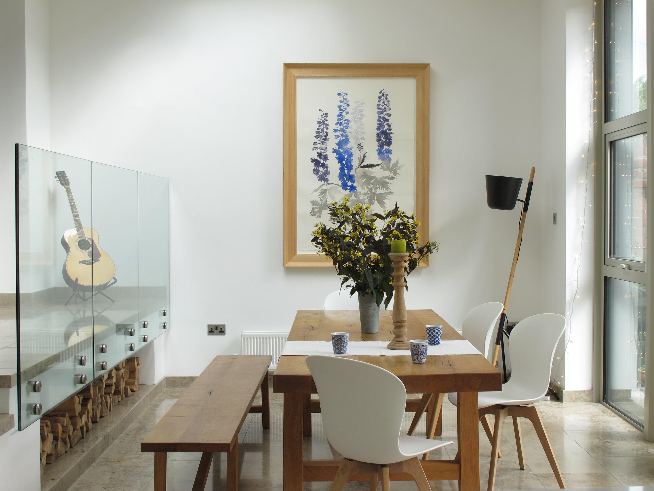 Apartment Kitchen Table Glass