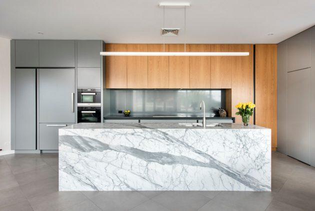 19 Marvelous Kitchen Designs With Porcelain Flooring