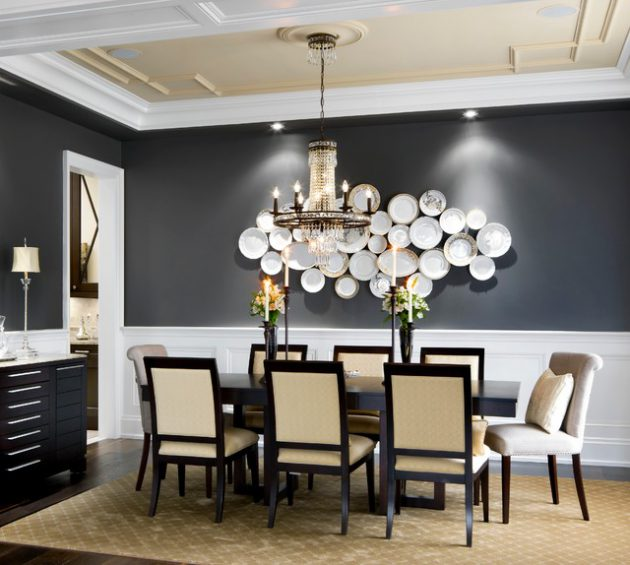 16 Charming Traditional Dining Room Designs That Will Catch Your Eye