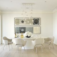 17 Divine White Dining Room Designs That Abound With Simplicity & Elegance