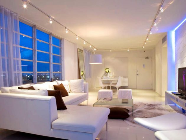 17 Wonderful Examples Of Living Room Lighting
