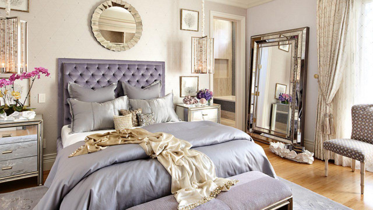 16 Outstanding Bedroom Designs With Floor Mirrors