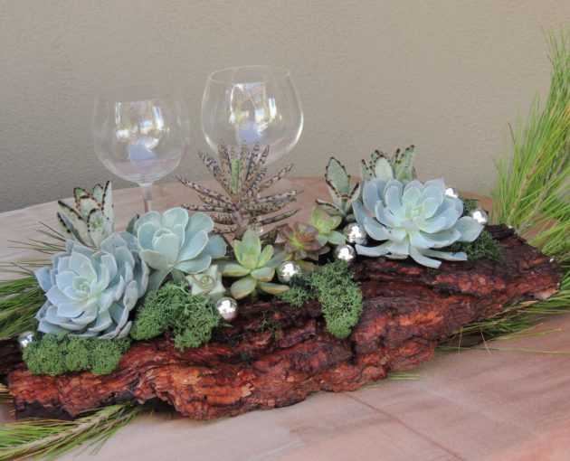 17 Awe Inspiring Log Centerpiece Designs To Adorn Your Dining Table