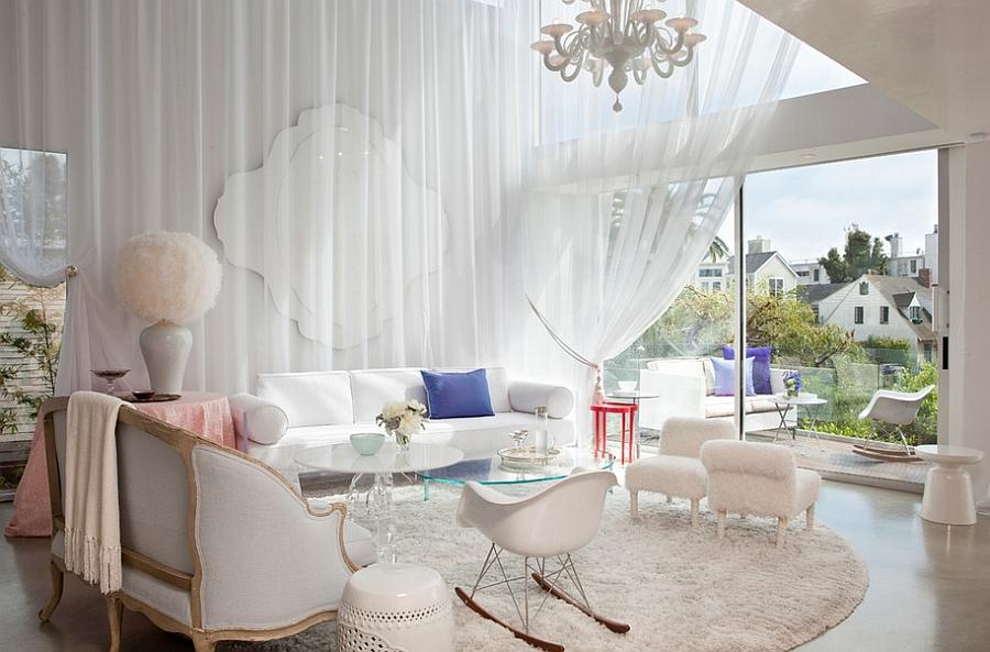 17 Marvelous Feminine Living Room Designs That Will Charm You