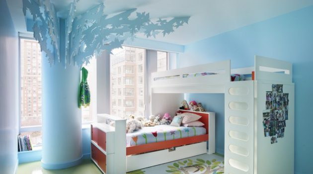 15 Adorable Child's Room Designs In Light Blue Color
