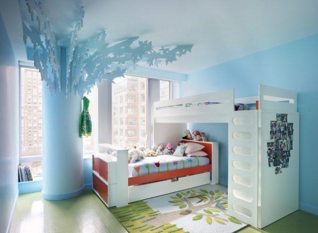 15 Adorable Child's Room Designs In Light Blue Color