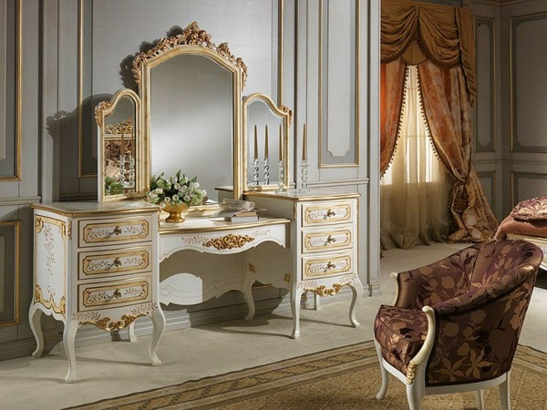 16 Astonishing Luxury Makeup Tables That Are Dream Of