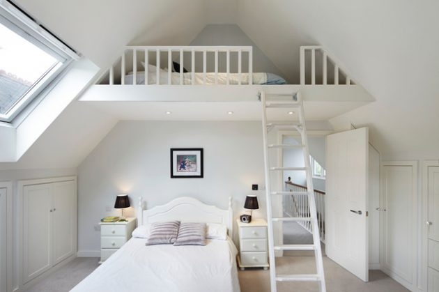 19 Delightful Loft Childs Room Ideas For Your Inspiration