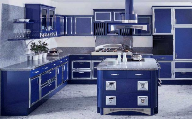 17 Appealing Blue Kitchen Designs That Everyone Should See